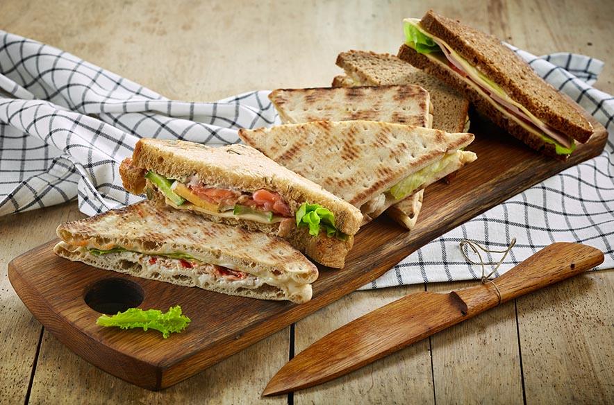 Dreieckiges Sandwich